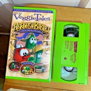 VHS Veggie Tales Heroes of the Bible Classic Colle